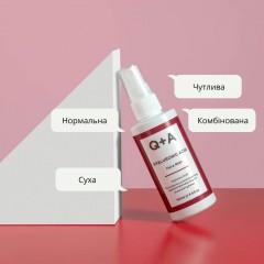 Q+A Hyaluronic acid face mist 100 мл